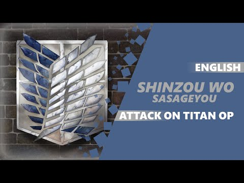 ENGLISH ATTACK ON TITAN S2 OP - We Dedicate ~Shinzou wo Sasageyo~ [Dima Lancaster feat. BrokeN]