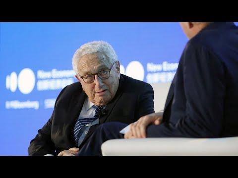 Kissinger Discusses U.S.-China