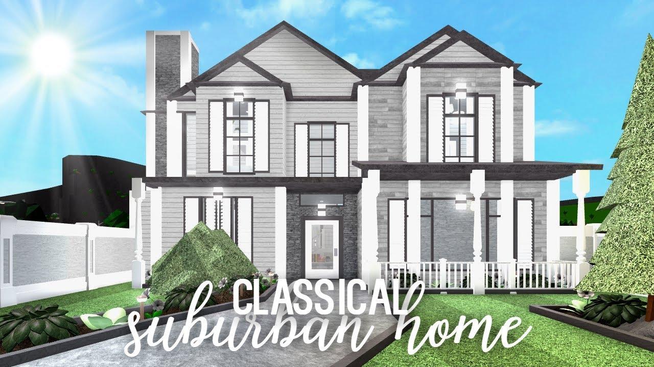 Bloxburg: Classical Suburban Home 66k