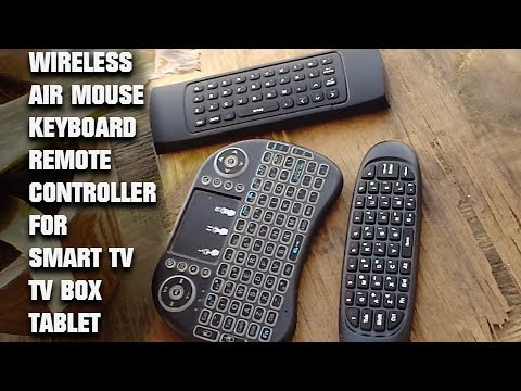 2019 Wireless IR Remote Controller Air Mouse Keyboard For Android Smart TV PC Tablets Phones TV BOX