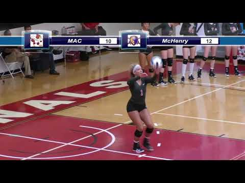 Mineral Area College vs McHenry County College - Volleyball - 10/13/2017