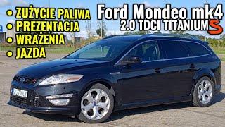 2011 Ford Mondeo 2.0 TDCI - Spalanie, prezentacja z bliska. Mini teścik.