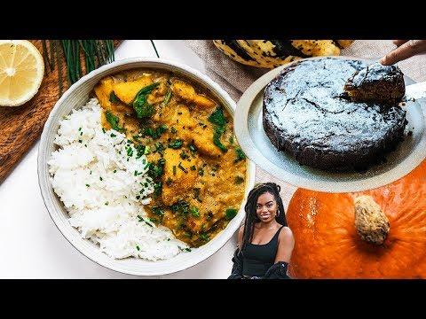 Delicious Vegan Fall Meals and Pudding!