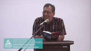 Sekolah Sabat Dewasa Triwulan 2 2019 Pelajaran 2 Pilihan Yang Kita Buat - Pdt. Samuel Simorangkir