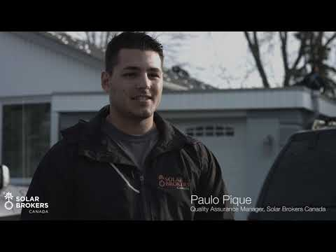 Lowes Solar Panel Installers In Action: Solar Brokers Canada