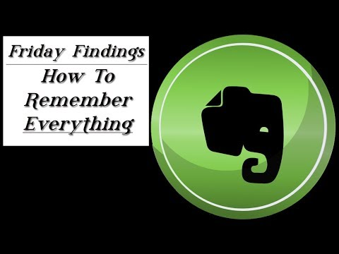 How To Organize All Your Creative Ideas Using Evernote-Friday Findings Tutorial