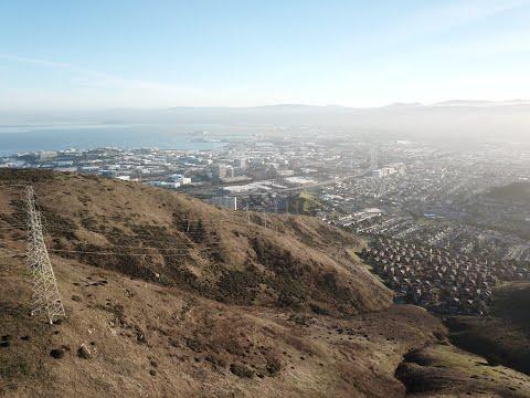 San Bruno Mountain & SF skyline |