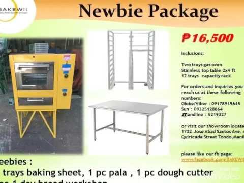 Bakewil Bakery Packages