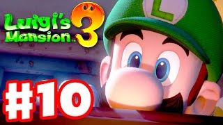 Luigi's Mansion 3 - Gameplay Walkthrough Part 10 - Mummies in the Tomb Suites! (Nintendo Switch)