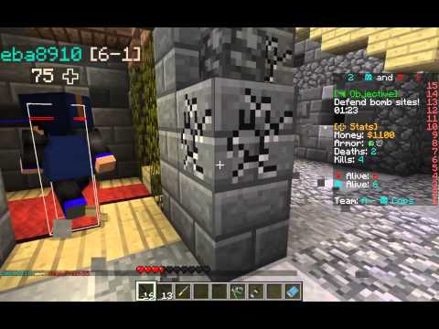 Hypixel - CvC Tutorial And Single Gameplay