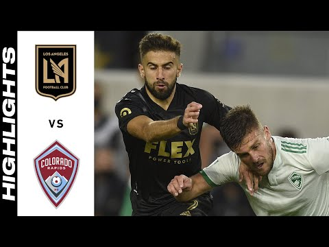 Los Angeles FC Colorado Goals And Highlights