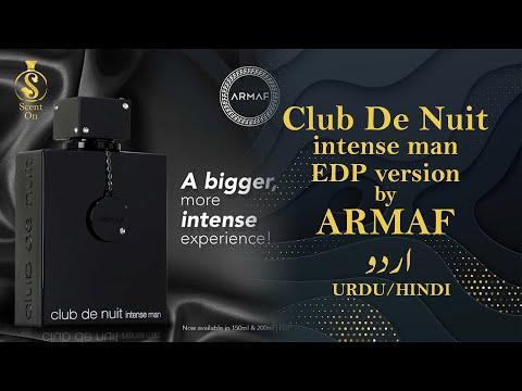 CLUB DE NUIT INTENSE MAN - EAU DE PARFUM Version | Urdu/Hindi Only - With English Subtitles