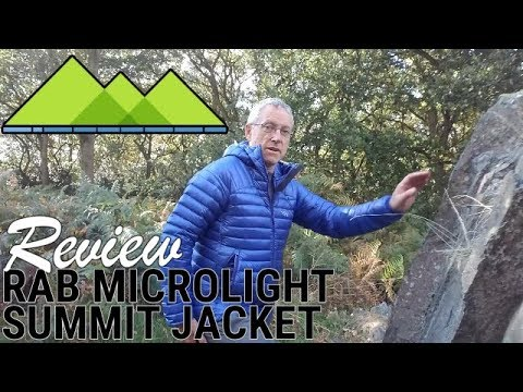 507981ea1a7 Rab Microlight Summit Jacket Review - YouTube
