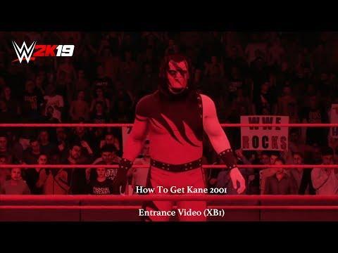 WWE 2K19 - How To Get Kane 2001 Entrance Vid (XB1)