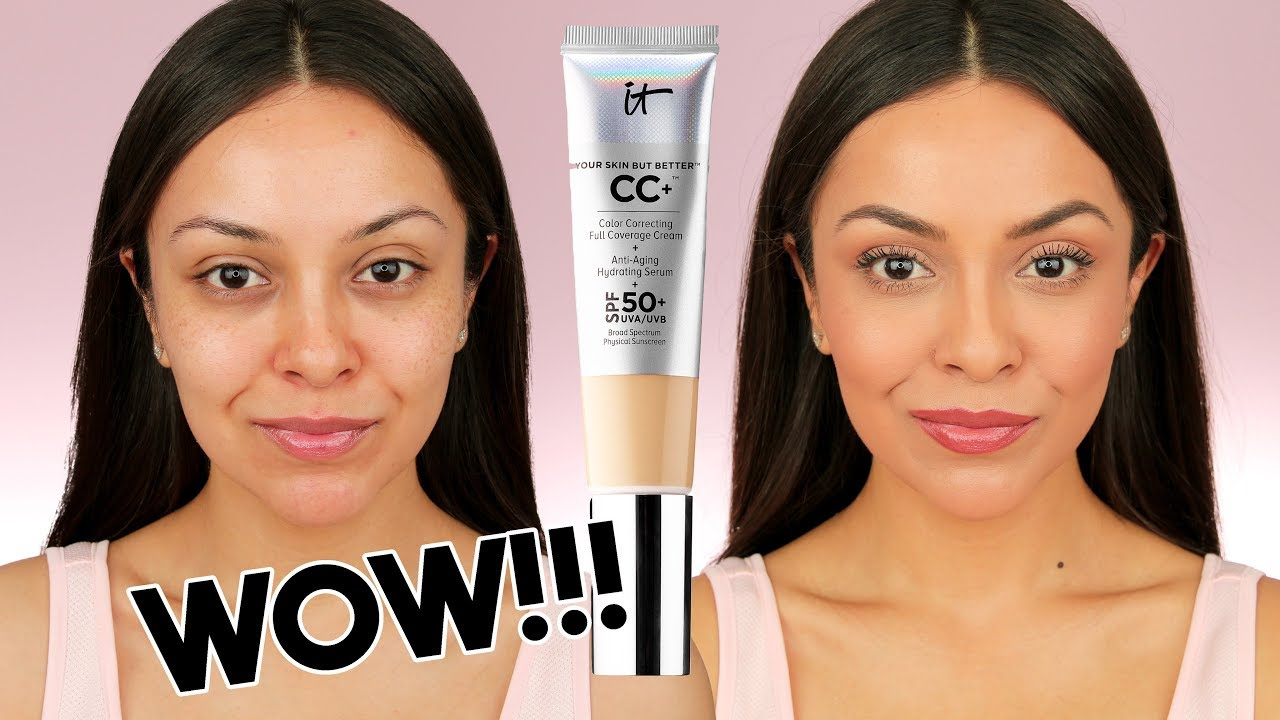 ee17ca6ef84e0 IT COSMETICS CC CREAM FIRST IMPRESSION! I finally tried it and OMG! -  TrinaDuhra