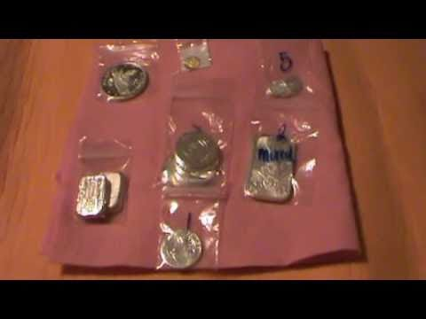 Precious metals (gold and silver) unboxing