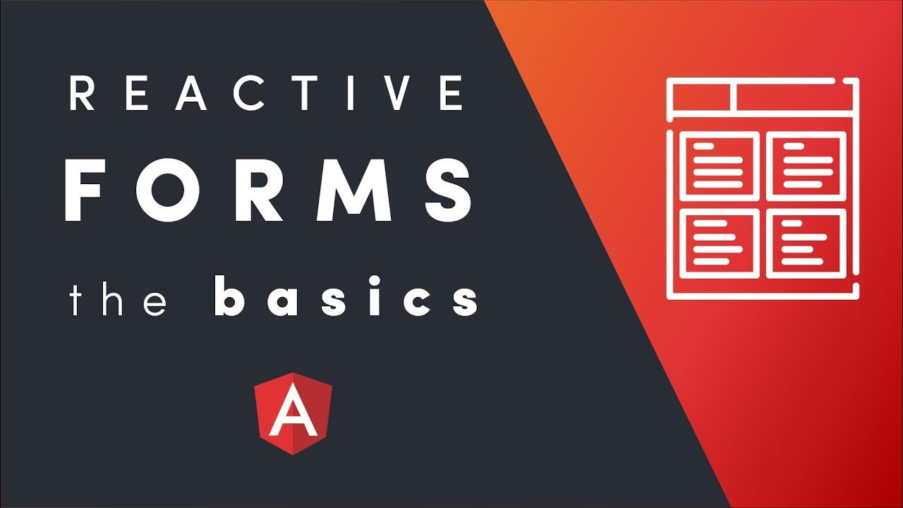 Angular Reactive Forms Basics Guide | AngularFirebase