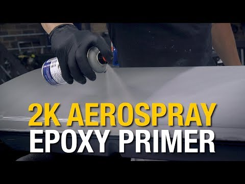 2 Component Paint in a Rattle Can! 2K Epoxy Primer AeroSpray™ - Eastwood
