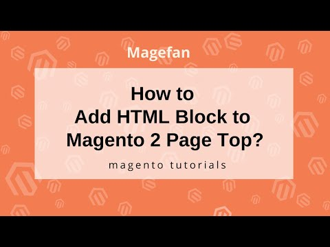 How to add HTML Block to Magento 2 Page Top?