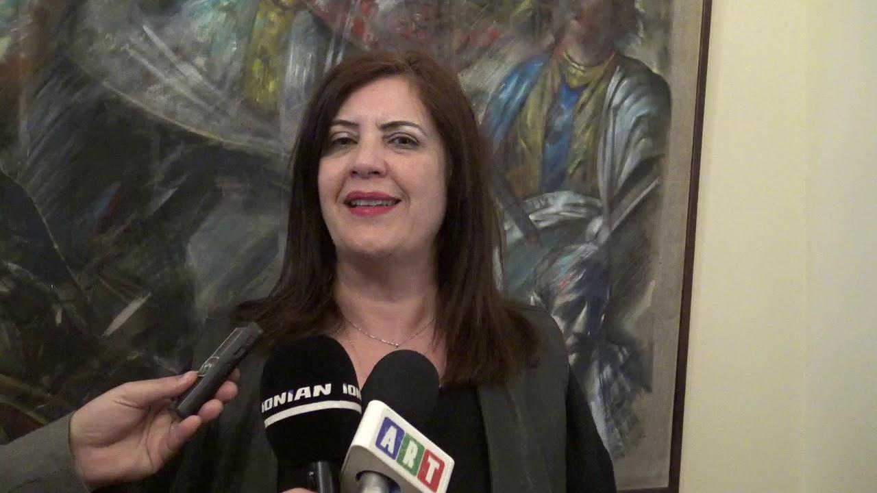 Η κα  Νικολάκου μιλά για υπογραφές νέων έργων και ΠΕΣΥ