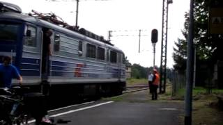 Małe Kłopoty EP07-1061 TLK Karkonosze w Szklarskiej Porębie 2011