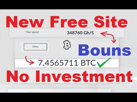 New Free Bitcoin Cloud Mining Site 2020 | New Free Bitcoin Earning Site 2020 | No Investment