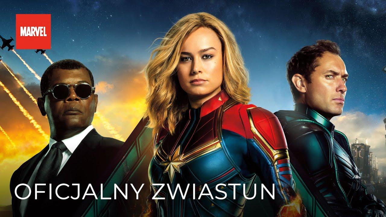 Kapitan Marvel 2019 (Zwiastun PL)