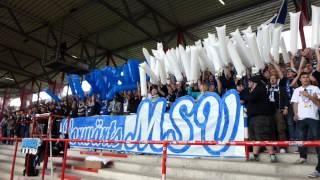 1. FC Union Berlin - MSV Duisburg (Choreo) HD