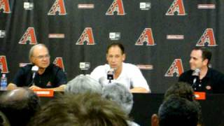 Luis Gonzalez Reitrement Press Conference Opening Statement