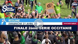 Finale 2ème Série - Ligue Occitanie Rugby - 21 Avril 2019