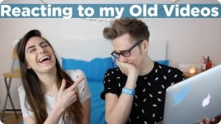 Reacting to my Old Videos | Evan Edinger & Dodie Clark