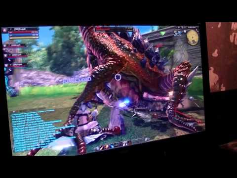RaiderZ Gameplay: Frog Battle