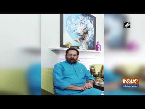 Mukhtar Abbas Naqvi calls Nizamuddin markaz event 'Talibani crime'