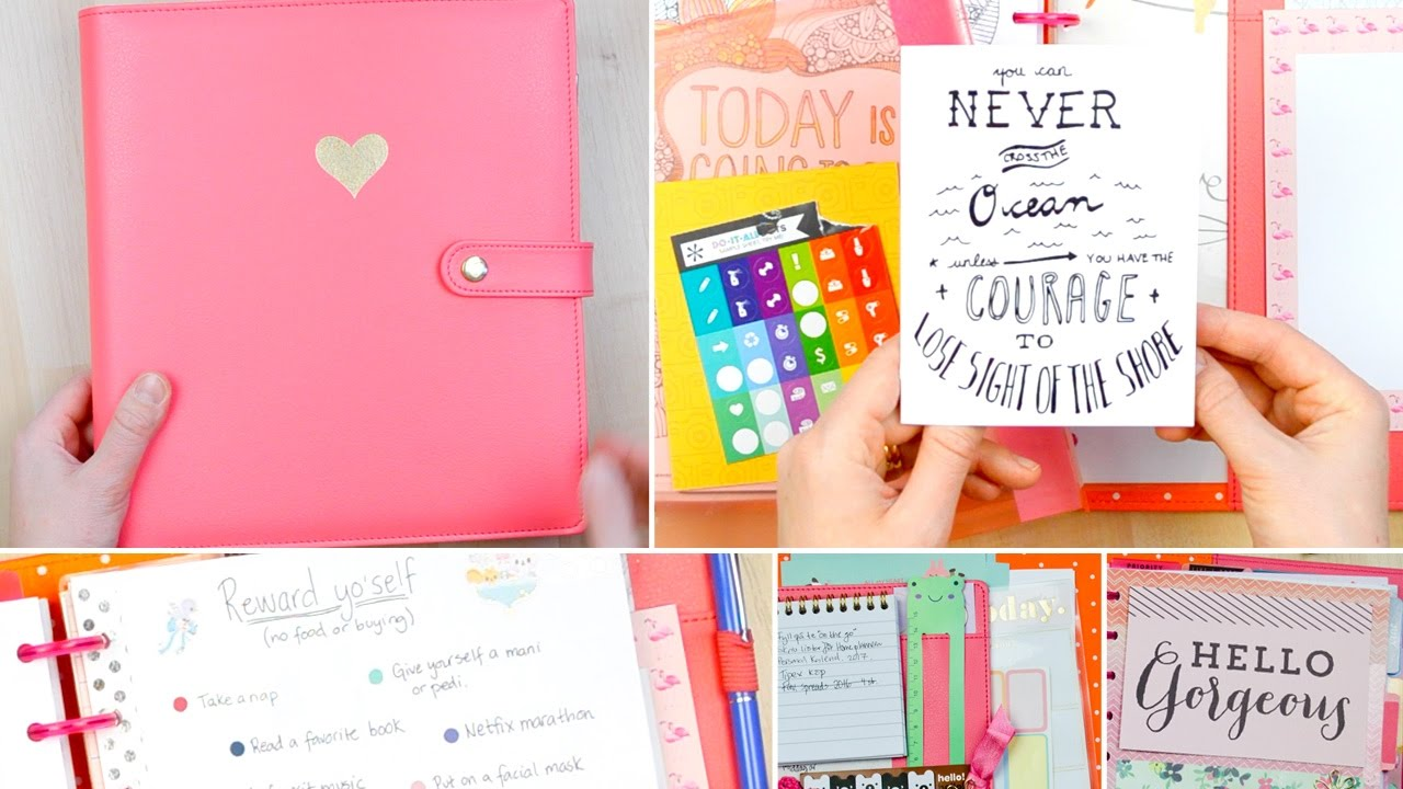 Happy Planner Setup and Deluxe Cover Review - YouTube