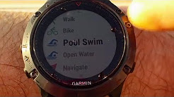 Garmin fenix 5 - YouTube