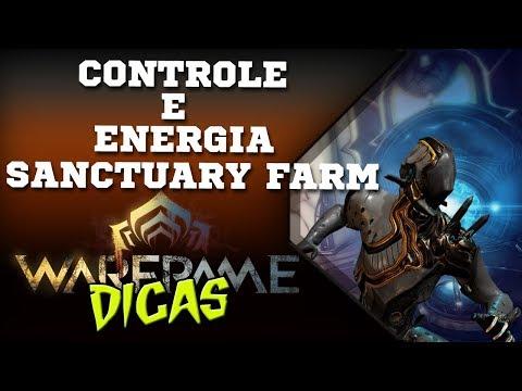 Warframe (pt-BR) | Controle e energia! Farmando no Sanctuary. thumbnail