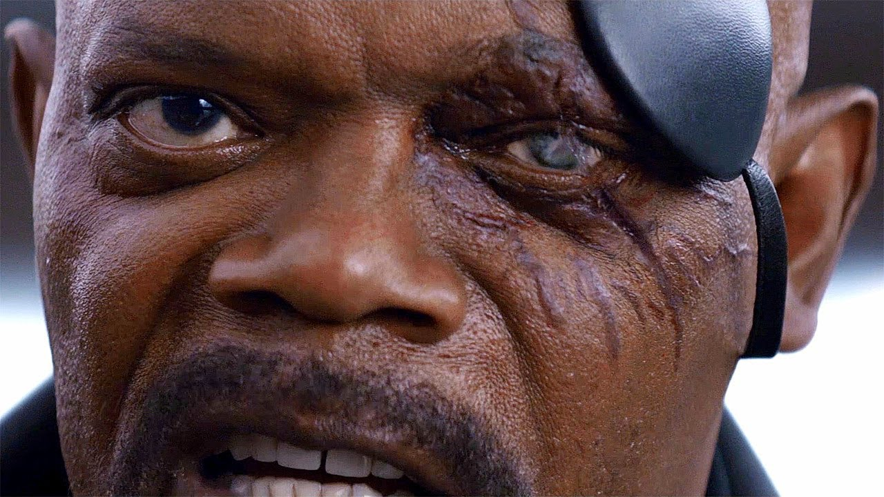 """[VIDEO] - Nick Fury """"You Need To Keep Both Eyes Open"""" - Captain America: The Winter Soldier (2014) 3"""