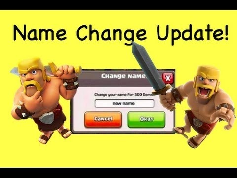 Clash of Clans- How to change your name unlimited times!