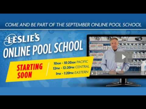 Leslie's Pool School | Closing Your Pool For Winter