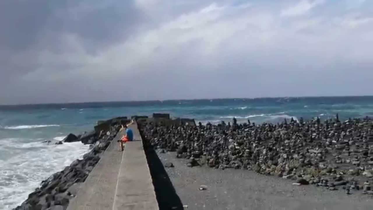 Playa jardin puerto de la cruz tenerife youtube - Playa puerto de la cruz tenerife ...
