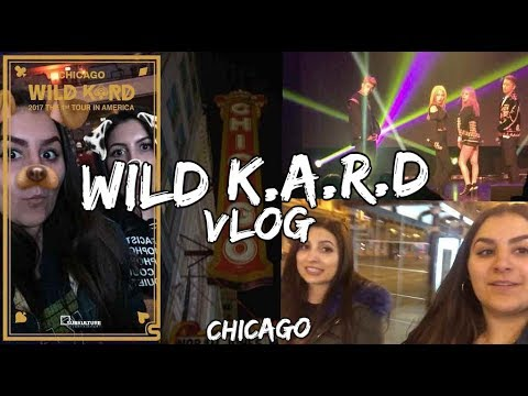 WILD K.A.R.D FANMEET CHICAGO VLOG   KMREACTS
