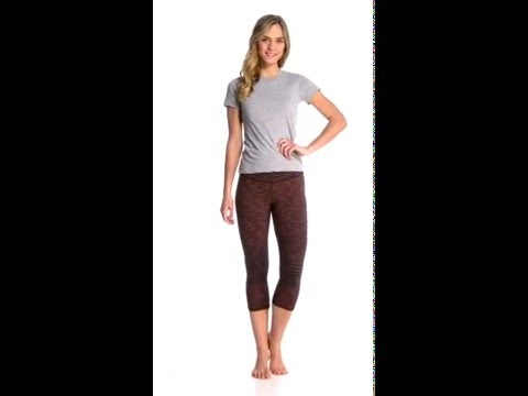 Lucy Women's Studio Hatha Capri Legging | SwimOutlet.com