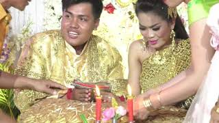 Khmer wedding events, Cambodia wedding ceremony,  Bride Tun Sokry, Groom Un Bunthoeun 11