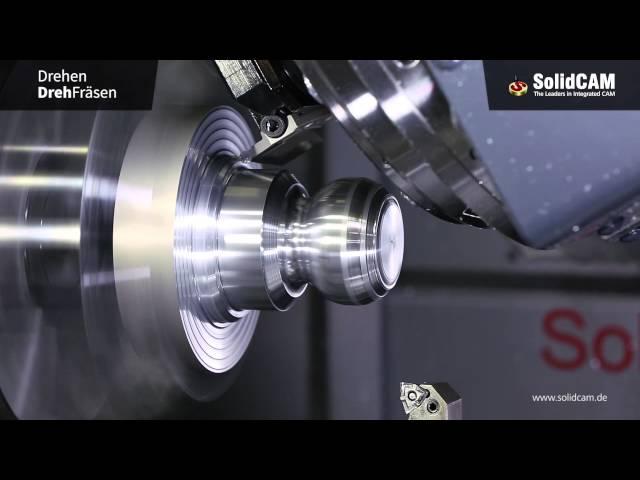 SolidCAM Drehen & Dreh Fräsen