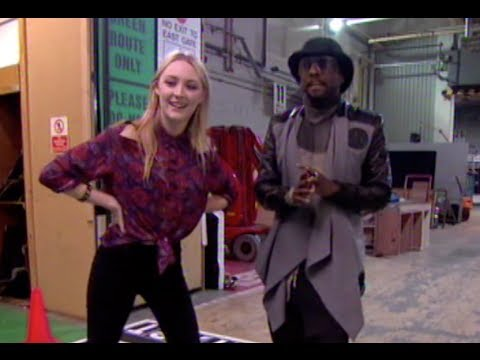 Saoirse Ronan Races Will.i.am Backstage!   The Jonathan Ross