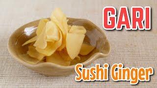 Gari (QUICK Sushi Ginger Recipe) すぐできる!ガリ(生姜の甘酢漬け)の作り方 - OCHIKERON - CREATE EAT HAPPY