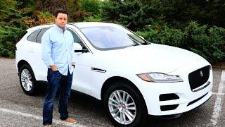 2017 Jaguar F-Pace Test Drive + Interior Exterior Review