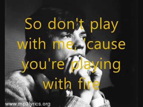 Rolling Stones- Play With Fire with Lyrics