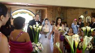"Tagatay 2010 in HD: My Cousin's wedding...""The Bridal Entrance"""