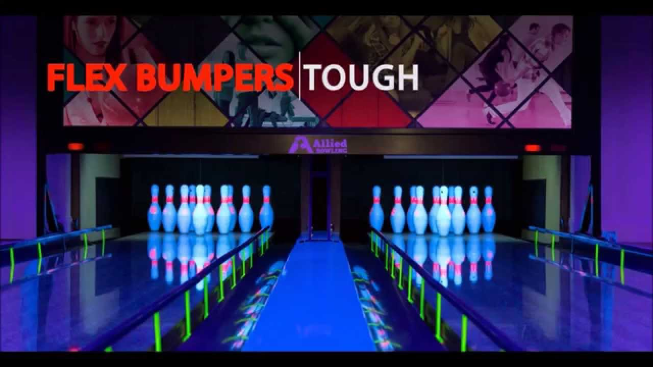 how to put up bumpers in bowling